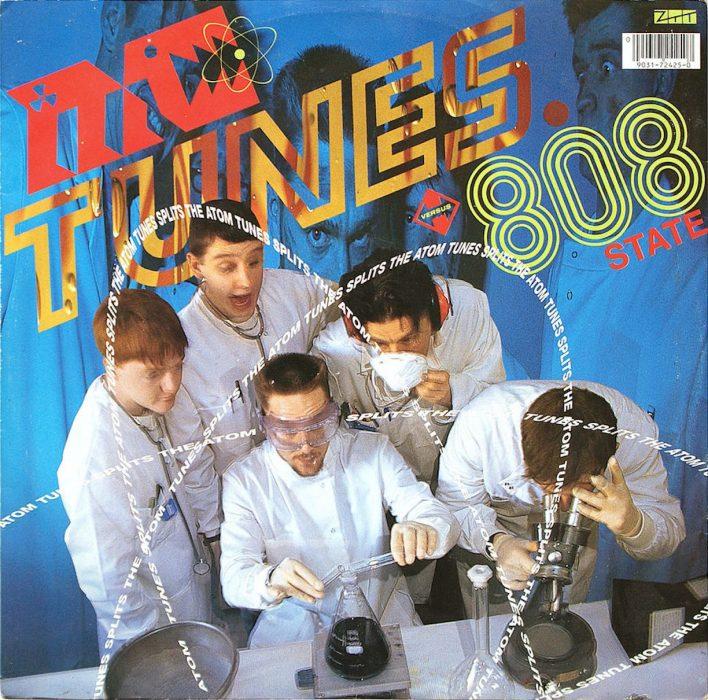 'Tunes Splits The Atom' by MC Tunes Versus 808 State, ZTT, 1990