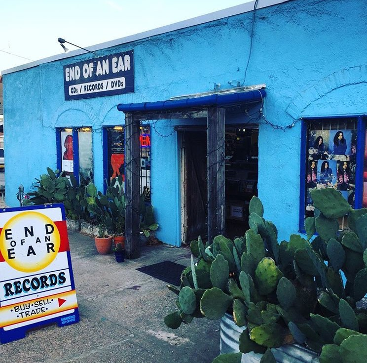 End of an Ear record shop in Texas