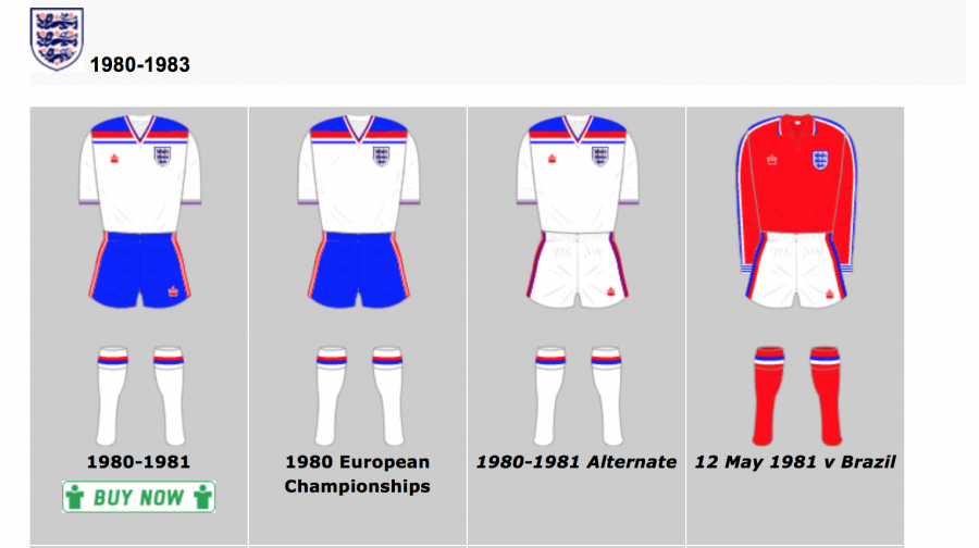 Getting shirty: Historical Football Kits, the definitive archive