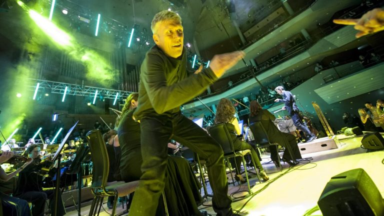 Be dancing at the Hacienda Classical, Bridgewater Hall, Manchester in 2016