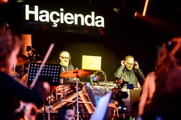 DJs Graeme Park and Mike Pickering at Hacienda Classical