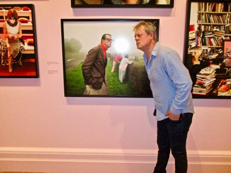 Graham Fellows at the National Portrait Gallery, 2019
