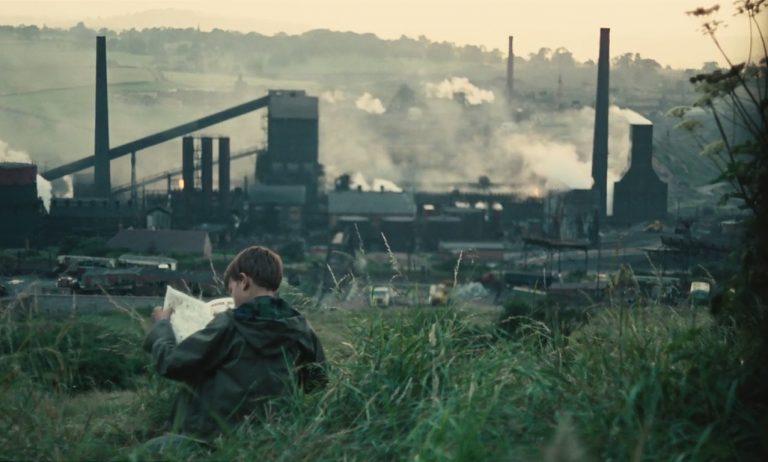 David Bradley in Kes, filmed in Barnsley