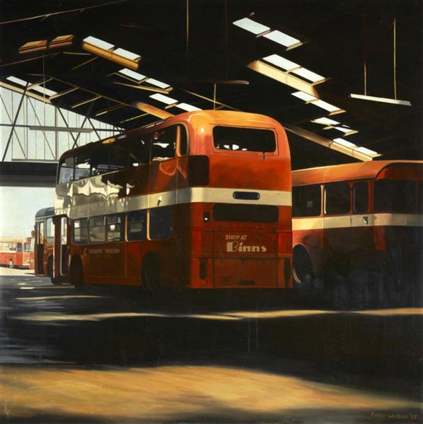 Bus depot in South Yorkshire